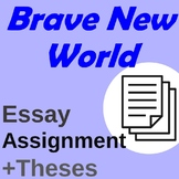 Brave New World Essay Assignment + Thesis Prompts