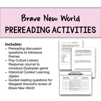 Brave New World Complete Unit Bundle