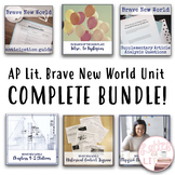 Brave New World Complete Unit Bundle