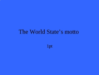 Brave New World Jeopardy PowerPoint