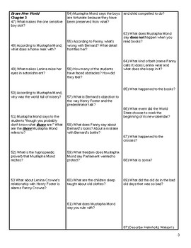 Brave New World Study Guide