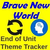 Brave New World Theme Tracker (End of Unit Theme Activity)