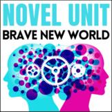 Brave New World Unit: Lessons, Activity Handouts, Quizzes,