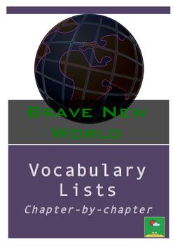 Brave New World Vocabulary Lists