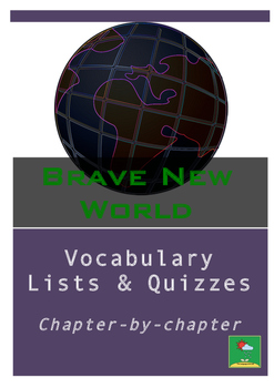 Brave New World Vocabulary Quizzes