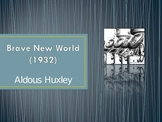 Brave New World (by Aldous Huxley) PowerPoint