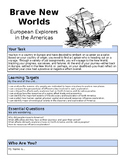 Brave New Worlds: Early Explorers Project