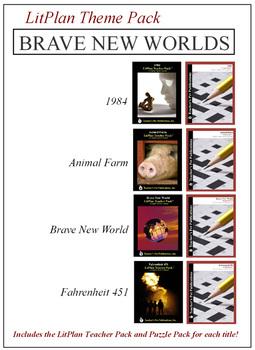 Brave New Worlds Novel Unit Theme Pack Bundle