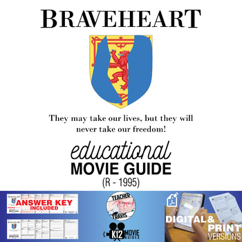 Braveheart Movie Guide | Questions | Worksheet (R - 1995)