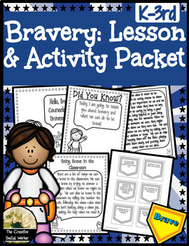 Bravery Lesson & Activity Packet