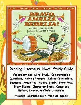 Bravo, Amelia Bedelia! Parish ELA Primary Novel Study Guide