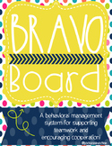 Bravo Board Behavior Tally Point System - Behavior Management