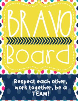 Bravo Board Behavior Tally Point System - Behavior Management