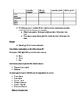 Bravo French textbook Chapter 3 guided notes pack French 4