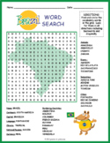 Brazil Geography Word Search