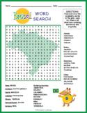 No Prep Brazil Geography Word Search