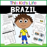 Brazil Country Study: Reading & Writing + PowerPoint Distance Learning