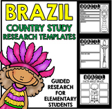 Brazil Country Study Research Project Templates and Graphic Organizers
