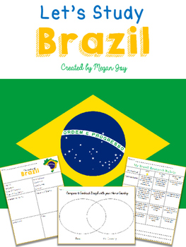 country research graphic organizer