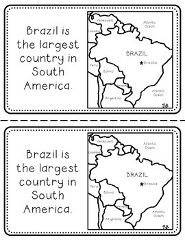 Brazil Booklet (A Country Study!)