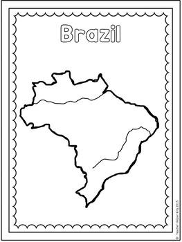 Brazil Coloring