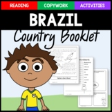 Brazil Copywork, Activities, and Country Booklet