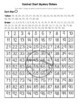 Brazil Flag Hundred Chart Mystery Picture with Number Cards