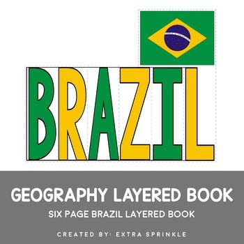 Brazil Geography Layered Book