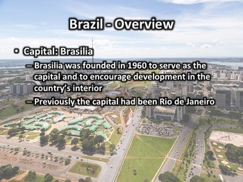 Brazil Geography and History Presentation