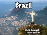 Brazil Geography and History Presentation