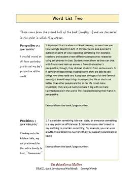 Brazil: Getting Wordy ~ Vocabulary-building Workbook