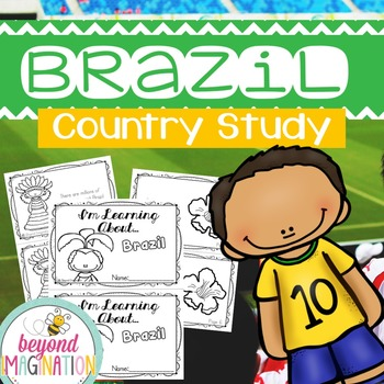 Brazil Country Study | 48 Pages for Differentiated Learning + Bonus Pages