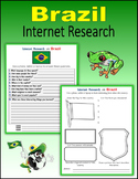 Brazil (Internet Research) - Printable or Digital Activity