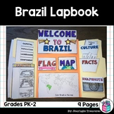 Brazil Lapbook for Early Learners - A Country Study