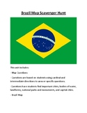Brazil Map Scavenger Hunt