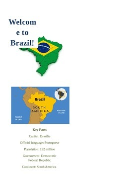 Brazil Mini Booklet