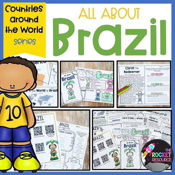 Brazil Mini-Unit: facts, geography, culture, plants, animals, food, & history