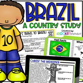 Brazil Mini-Unit: facts, geography, culture, plants, anima