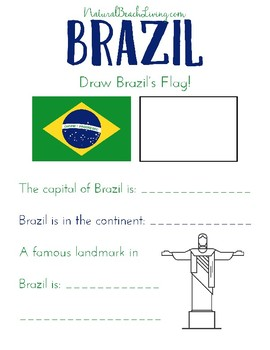Brazil Notebooking Pages