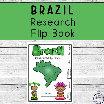 Brazil Research Flip Book