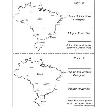 Brazil - Research Mini Book