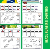 Brazil Themed Number / Counting Activities
