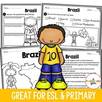 Brazil - Vocabulary Pack