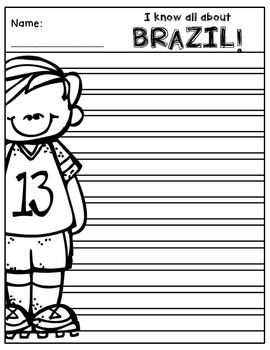 Brazil Writing Papers (A Country Study!)