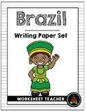Brazil Writing Paper Set