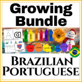 Brazilian Portuguese Set GROWING BUNDLE of ALL PRODUCTS