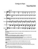 Brazilian music piece for SATB choir
