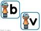 Bárbaros bigotes - A Spanish Phonics Center for B and V Words