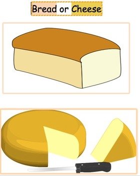 Bread - Cheese Game - short and long /e/ vowel discrimination word sort