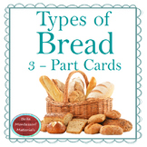 Bread - Montessori 3 - Part Cards